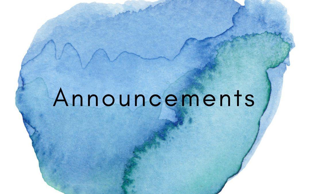 I will be away 31 August – 7 September 2018.