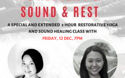 The Alchemy of Sound and Rest at Trium Fitness 13 December 2019