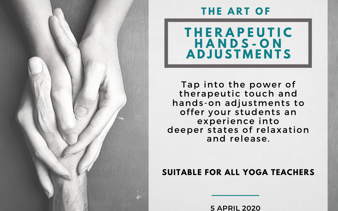 The Art of Therapeutic Hands-On Adjustments