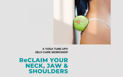 Reclaim Your Neck, Jaw & Shoulders – A Yoga Tune Up® Workshop
