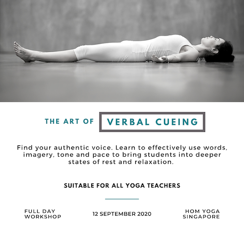 The Art of Verbal Cueing for Savasana and Restorative Poses