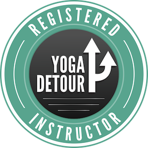 I'm a Registered Yoga Detour™ Instructor!