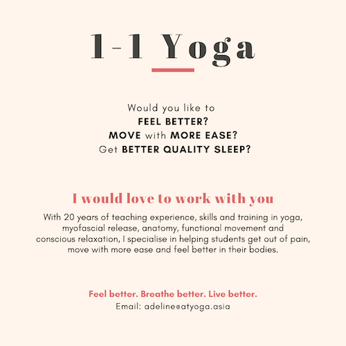 Private 1-1 Yoga and Yoga Rehab