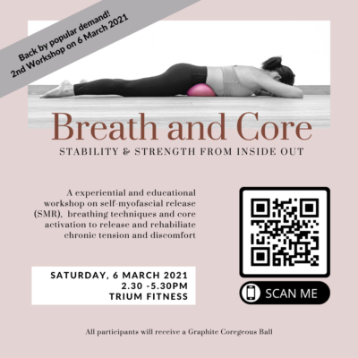 2nd Breath & Core Workshop – 6 March 2021